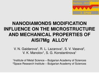 N ANODIAMONDS MODIFICATION INFLUENCE ON THE MICROSTRUCTURE AND MECHANICAL PROPERTIES OF