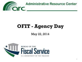 OFIT  - Agency Day