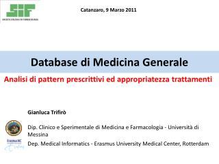 Database  di  Medicina Generale