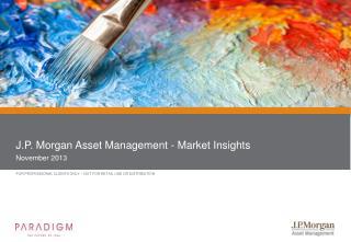 J.P. Morgan Asset Management - Market Insights