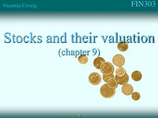 Stocks and their valuation (chapter 9)