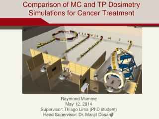 Comparison  of MC and TP  Dosimetry Simulations for  Cancer Treatment