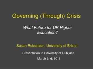 Governing (Through) Crisis