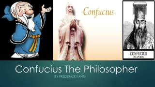 Confucius The Philosopher