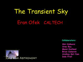 The Transient Sky