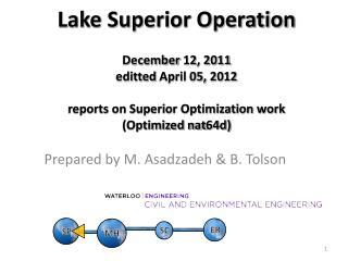 Prepared by M. Asadzadeh & B. Tolson