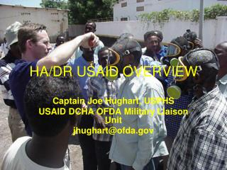 HA/DR USAID OVERVIEW