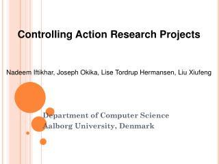 Department of Computer Science Aalborg University, Denmark