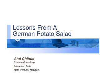 Atul Chitnis Exocore Consulting Bangalore, India exocore