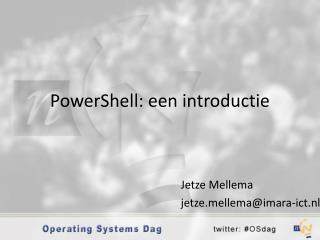 PowerShell: een introductie