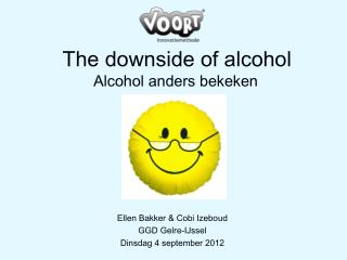 The downside of alcohol Alcohol anders bekeken