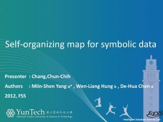Self-organizing map for symbolic data