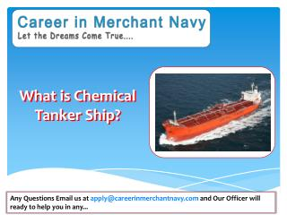how to join chemical tanker ship in merchant navy