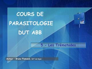 5 - Les Trématodes