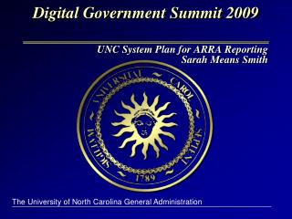 Digital Government Summit 2009