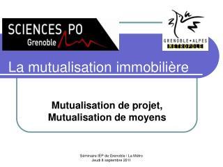La mutualisation immobilière