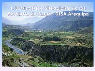 I. Diagnostico Situacional de los Servicios de Salud - DISA Arequipa