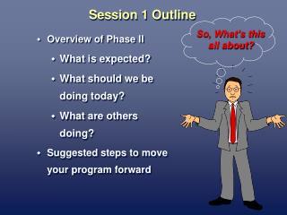 Session 1 Outline