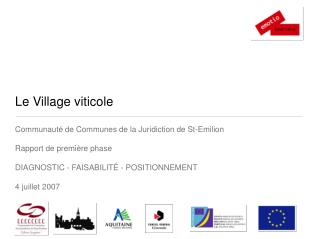 Le Village viticole