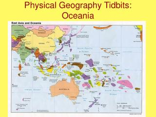 Physical Geography Tidbits: Oceania