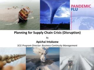 Planning for Supply Chain Crisis (Disruption) By