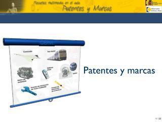 Patentes y marcas