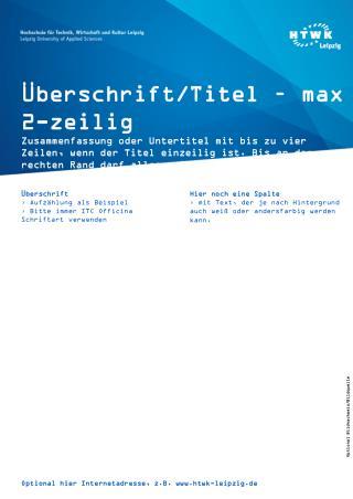 Überschrift/Titel –  max  2-zeilig