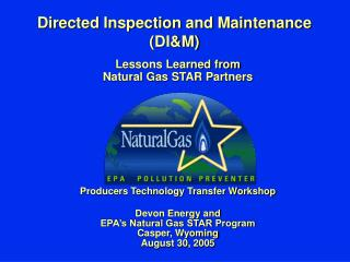 Directed Inspection and Maintenance (DI&M)