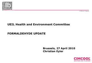 Formaldehyde France - Legal Situation