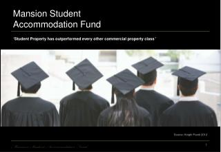Mansion Student Accommodation Fund