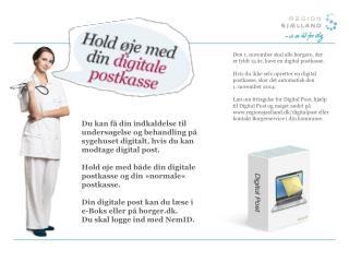 Den 1. november skal alle borgere, der er fyldt 15 år, have en digital postkasse.