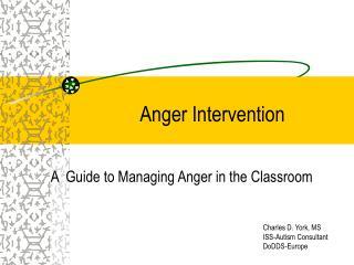 Anger Intervention