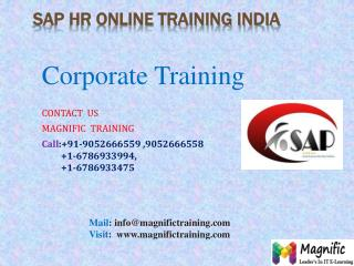 sap hr online training in usa