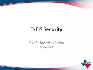 TxEIS Security