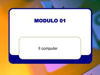 MODULO 01