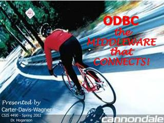 ODBC the MIDDLEWARE that CONNECTS!