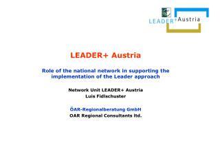 LEADER+ Austria