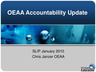 OEAA Accountability Update