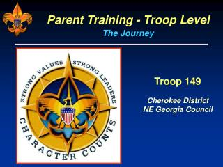Parent Training - Troop Level