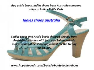 Buy Ladies Shoes Online | Online Shoe Shopping - Petite Peds