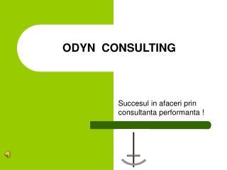 ODYN  CONSULTING