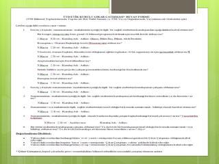 Akciğer Dışı TB (AD-TB) Olguları