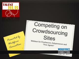 Competing on Crowdsourcing Sites