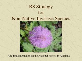 R8 Strategy for Non-Native Invasive Species