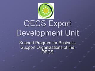 OECS Export Development Unit