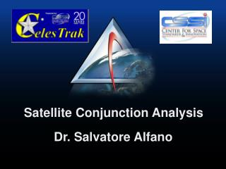 Satellite Conjunction Analysis