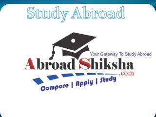 Abroad Education Consultant , Study Abroad Consultant