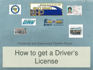 How to get a Driver ' s License