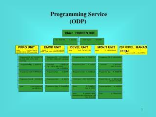 Programming Service  (ODP)