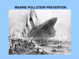 MARINE POLLUTION PREVENTION PROCEDURES